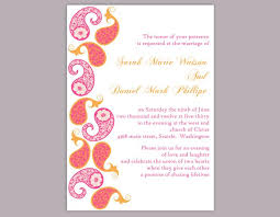 indian wedding card templates diy wedding invitation template editable word file