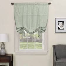 Tie Up Curtains Modern Contemporary Tie Up Curtains Allmodern