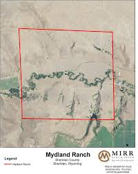 Sheridan Wyoming Map Mydland Ranch U2022 Mirr Ranch Group