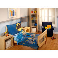 Comforters For Toddler Beds Warner Bros Batman 3 Piece Toddler Bedding Set With Bonus