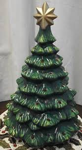 ceramic christmas tree with lights cracker barrel 2013 cracker barrel nostalgic hand painted 19 ceramic christmas