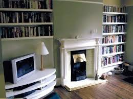 Built In Bookshelves Around Tv by Nyc Custom Built In Fireplace Bookcases Bookshelves Wall Units Nyc