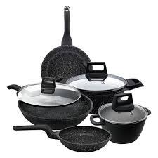 cara mebuat sinti shogun marble cookware set with free gift go shop