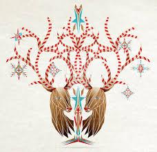 christmas deer christmas deer by manou56 on deviantart