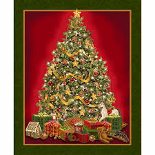 the best time of the year tree green panel liz