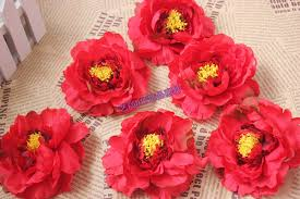 Wholesale Silk Flower Arrangements - aliexpress com buy 11cm handmade large silk peony flowers