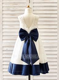 a line princess knee length flower dress lace sleeveless