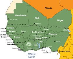 Define Political Map West Africa