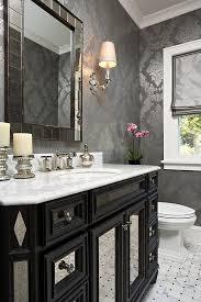 black and silver bathroom ideas bathroom further powder room mirror on grey silver bathroom