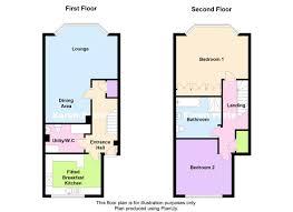 Maisonette Floor Plan Cavendish Court Park Avenue Hesketh Park Southport Pr9 2