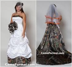 discount 2015 white camo wedding dress with detachable