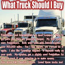 buy new kenworth truck what truck should i buy