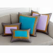 jonathan adler lampert sofa bluebird siam silk throw pillow modern holding category for