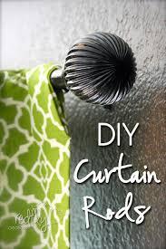 Diy Curtain Rod Finials Remodelaholic 25 Creative Diy Curtain Rod Tutorials