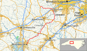 Rowan Map North Carolina Highway 801 Wikipedia