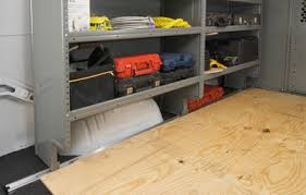 Ford Transit Connect Shelving by Adseries Shelving