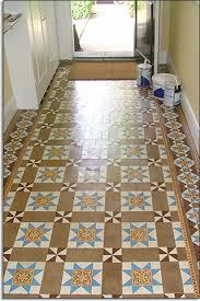 floor tile restoration hallway tile restoration