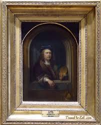 gerrit gérard dou dutch golden age painter travel to eat