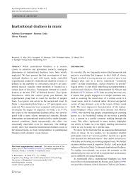 Inattentional Blindness Definition Inattentional Deafness In Music Pdf Download Available