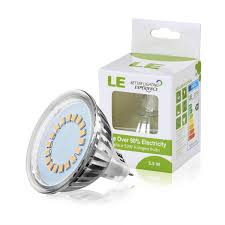 le better lighting experience mr16 led bulb 3 5w 50w halogen replacement le