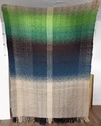 large hand woven lambswool blanket
