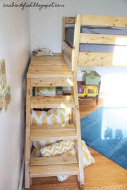 Wood Twin Loft Bed Plans by Twin Over Full Bunk Beds With Stairs Bunk Beds Twin Over Full