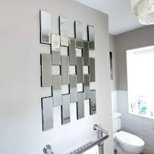 20 Choices of Abstract Mirror Wall Art