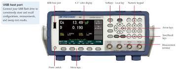 bench lcr meter model 891 b u0026k precision mouser