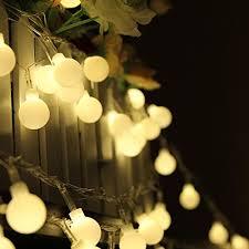 100 led 33ft 10m globe string lights warm white light