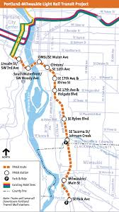 portland light rail map max orange line train makes 1st run with passengers from portland to