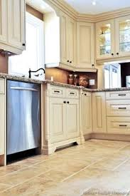 Kitchen Cabinets Antique White Antique White With Pewter Glaze For The Home Pinterest