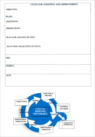performance improvement plan template 9 download documents in
