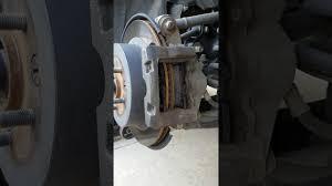 lexus is350 f sport brakes 2007 lexus is350 brake pad change youtube