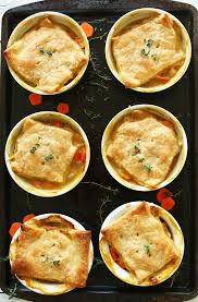 thyme u0026 white bean pot pies minimalist baker recipes