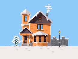 Winter House Winter House By Nutsa Avaliani Dribbble