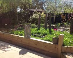 Railway Sleepers Garden Ideas Railway Sleeper Garden Designs New Pros And Cons Of Using Railway