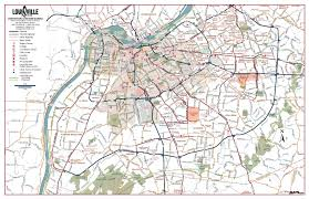 Map Of St Louis Area Map Of Louisville Ky Gotolouisville Com Official Travel Source
