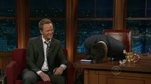 neil patrick harris wins craig ferguson mouth organ youtube