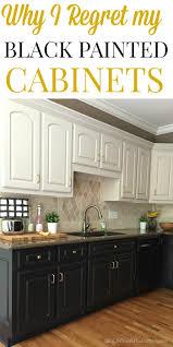 Paint Kitchen Cabinets Black Kitchen Furniture Staggeringn Cabinets Black Image Ideas