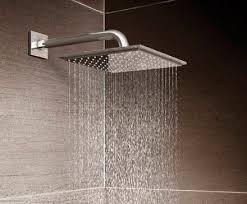 Ceiling Mounted Rain Shower by Wall Mounted Shower Head Ceiling Mounted Square Rain