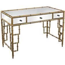Bamboo Desks Hollywood Regency Gold Bamboo Desk Bamboo Pinterest