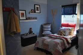 bedrooms small blue bedroom decoration with black chest and blue