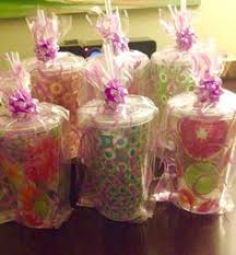prizes for baby shower co ed baby shower prizes cups bags bows and plastic filling