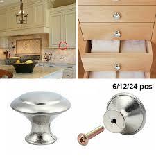 kitchen cabinet door handles walmart 6 12 24x door knob cabinet handles cupboard drawer kitchen stainless steel diy silver