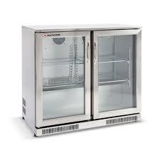 glass door bar fridge perth matador 228l stainless steel double door bar fridge bunnings