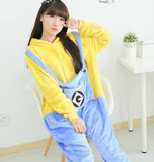 Cheap Halloween Costumes Pajamas Minions Popular Minion Costume Cosplay Buy Cheap Minion Costume Cosplay