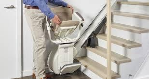siege escalier monte escalier droit comfort thyssenkrupp home solutions
