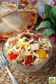 easy pasta salad gluten free caprese pasta salad this mama cooks on a diet