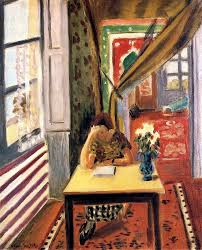 Elbows On The Table Reader Leaning Her Elbow On The Table 1923 Henri Matisse