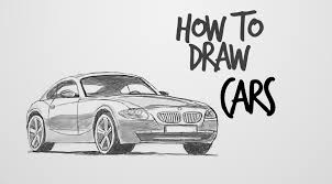 how to draw cars drawing factory